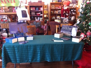 Still's book launch at Goliad Pharmacy